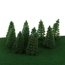 20pcs Model Trees Train Railway Scenery Layout 1:150 N Scale 8cm