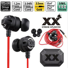 HA-FX1X HAFX1X Xtremed Xplosives Earphones In-Ear Deep bass Headphone Headset Gaming Auriculares For Sumsung IPhone mp3/4 xedain
