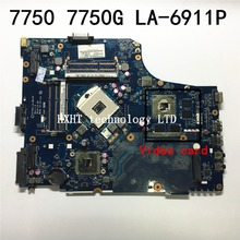 For ACER Aspire 7750 7750G Laptop motherboard LA-6911P Mainboard DDR3 100% tested Free shipping