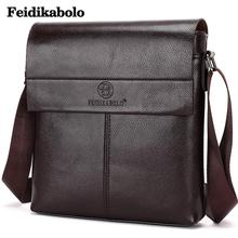 New Fashion Men Shoulder Bags Men Leather Messenger Bags High Quality Men Brand Business Bag Casual Men Crossbody Handbag FD033