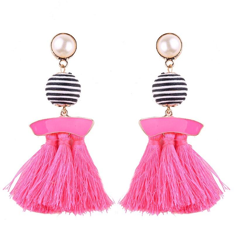 Fringed Fashion Tassel Earrings*