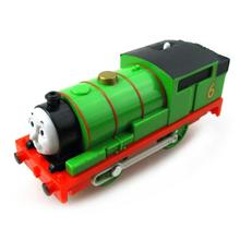T0197 Electric Thomas and friend Percy Trackmaster engine Motorized train Chinldren child kids plastic toys gift(China)