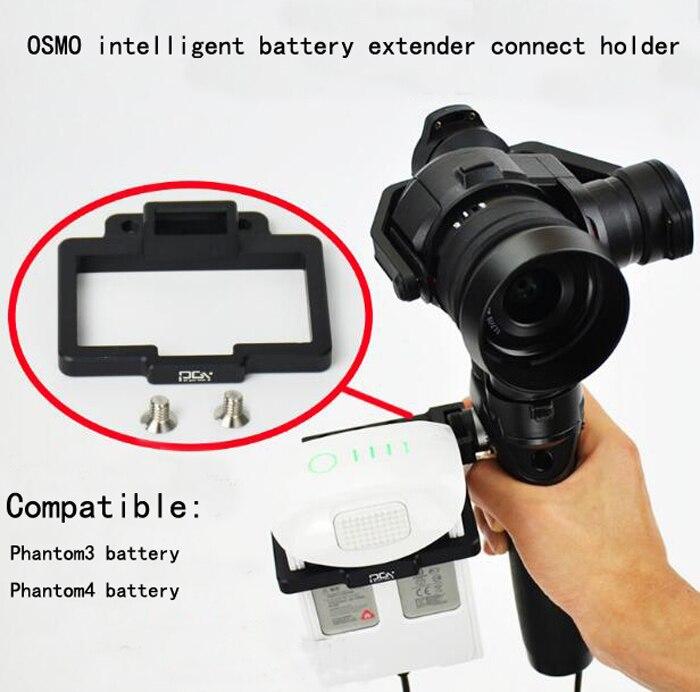 DJI OSMO External Phantom 3 4 Battery Extender Adapter Battery Connection Holder Handheld Gimbal Drone Accessories<br><br>Aliexpress
