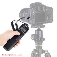 VILTROX Time Lapse Intervalometer Timer Remote Control Shutter Release with N3 Cable for Nikon D90 D600 D3100 D3200 D5000 D5100
