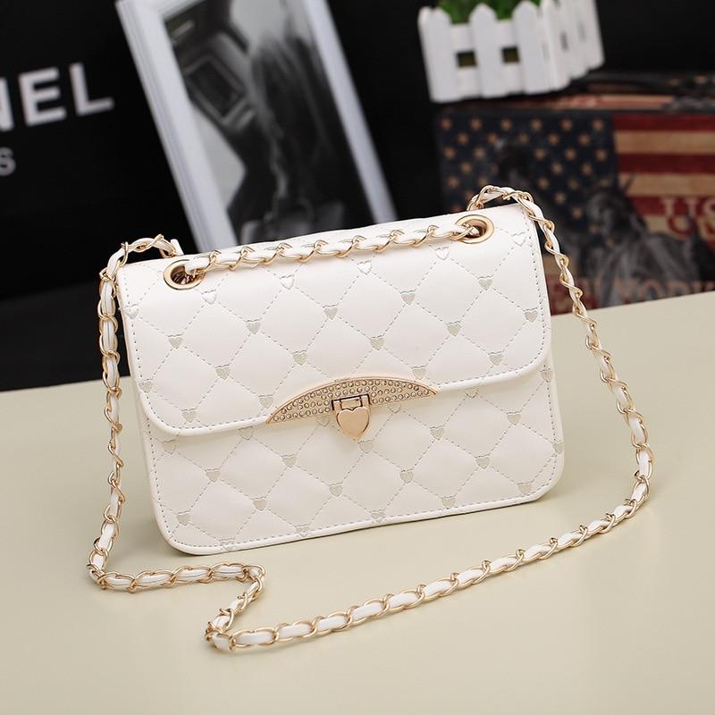 New Fashion Classic Design With Diamonds Bags Women Handbags Designers Brand Women Messenger Bag Women Clutch Evening Bag<br><br>Aliexpress