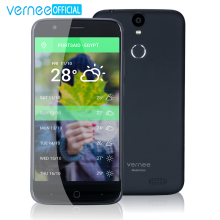 "Vernee Thor 5"" HD 4G LTE Mobile Phone MTK6753 Octa-Core Android 7.0 Cell Phones 3G RAM 16G ROM Dual SIM Fingerprint Smartphone(China)"