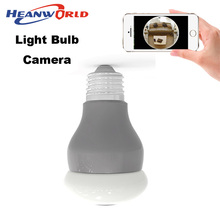 360 degree Panoramin Smart Home Security Wifi VR Camera Bulb LED CCTV Surveillance Camcorder support PC mobile phone view(China)