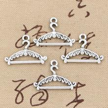 99Cents 12pcs Charms hanger clothes stand 24*17mm Antique Making pendant fit,Vintage Tibetan Silver,DIY bracelet necklace