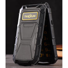 TKEXUN G800 Flip Phone With Camera Bluetooth Dual Sim Card 2.4 inch Luxury Cell Phone