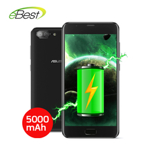 Newest ASUS zenfone 4 max plus X015D smartphone 5.5 Inch Android 7.0 3GB RAM MT6750 Fingerprint ID 5000mAh Battery mobile phone