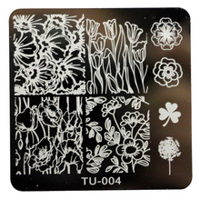 DIY Nail Art Image Stamp Stamping Plates Manicure Template  6616