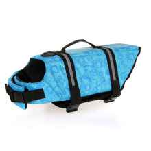 Pet Dog Saver Life Jacket Vest Breathable Mesh Reflective Dog Life Preservers Aquatic Safety Vests