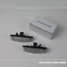 For Toyota Ipsum Picnic / SportsVan 2000~2009 / LED Car License Plate Light / Number Frame Lamp / High Quality LED Lights(China)