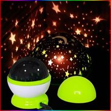 Unique creative automatic rotating projection lamp luminous Dream Star Projector creative romantic birthday gift