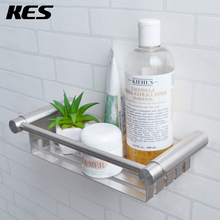 KES SUS 304 Stainless Steel Shower Caddy Bath Basket Storage Shelf Hanging Organizer Rustproof Wall Mount Brushed, BSC203S27-2(China)