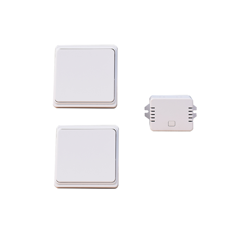 Augia Wireless Switch 2 buttons 1 receiver Waterproof Push Button Switch Wall Light Switch 70m Long Working Range Free Shipping <br>