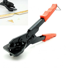 U type edge trimming scissors folded 45 degrees 90 degrees KT card tool pliers clamp pliers scissors advertising KT(China)