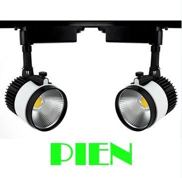 30W Cob led track lamparas Modern spot kitchen lights Art gallery indoor lighting +10pcs 1m track rail CE&amp;ROHS by DHL 20pcs<br><br>Aliexpress
