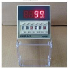12V 24V 110V 220V Multifunction Digital Timer Relay On Delay 8 Pins SPDT DH48S-S Repeat Cycle 0.1S-99H(China)
