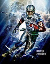 "TY03816 Calvin Johnson - American Football NFL Megatron 14""x18"" Poster(China)"