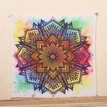 Indian Mandala Tapestry Beach Mat Blanket Table Cloth Wall Hanging Tapestries Boho Bedspread Mandala Tapestry Beach SS6