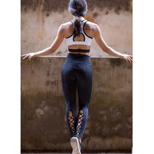 Fitness Womens Yoga Sports Pants Active Apparel Leggings Running Gym Fitness Trousers(China)