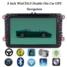 "For VW 8"" WinCE6.0 Car GPS Navigation DVD Player In Dash Radio Stereo With Bluetooth Steering Wheel Control For Volkswagen Jetta"