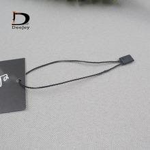2016 new promotion wholesale black nylon seal tag string garment hang strings 1000pcs/lot