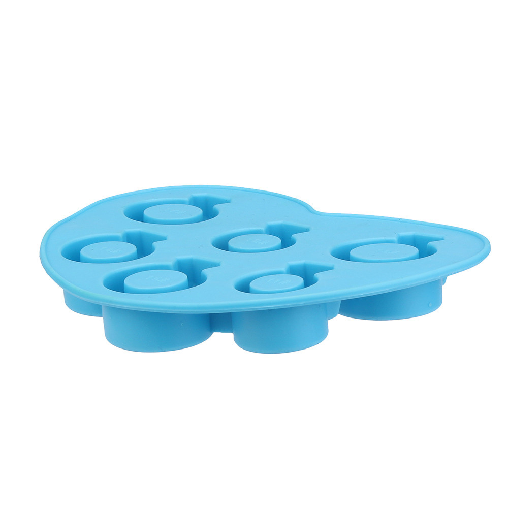 Diamond Ring Ice Shapes Silicone Molds Cookies Tools Ice Cream Tools 1pc  Ice Mode Silicone Soft