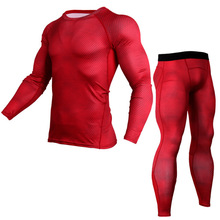 Buy Men Compression Shirts Bodybuilding Skin Tight Jerseys Clothing MMA Crossfit Cycling Exercise Workout Fitness Sports Base Layers for $16.88 in AliExpress store