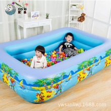 210cm*140cm*45cm high quality outdoor swimming pool baby bathtub summer water Kids Mini-playground fun pool toys(China)