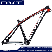 Cheap T800 carbon mtb frame 26er Chinese full carbon frame for bicicletas mountain bike 26 carbon bicycle frameset mtb 135*9mm