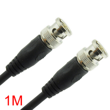 1M/3.28FT BNC Male to BNC Male Connector RG59 Coaxial Cable For CCTV Camera