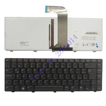Latin for Dell for XPS L502X for Inspiron N4110 N4040 N4050 M4040 M4050 M411R 5520 LA laptop keyboard backlit