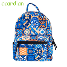 Women Backpack Top Quality Shoulder Bag Child Print New Hot Rucksack Mini School Bag Book Blue Gift Mochila 17June7