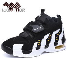 LUONTNOR Cushion Men Basketball Shoes Outdoor Air Damping Man Sports Sneakers Basketball Boots Couple Basket Homme Cheap(China)
