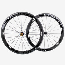 AWST TC50 50mm full carbon bicycle wheels 700C 23mm width road bike carbon wheels made in taiwan with powerway hubs wheels