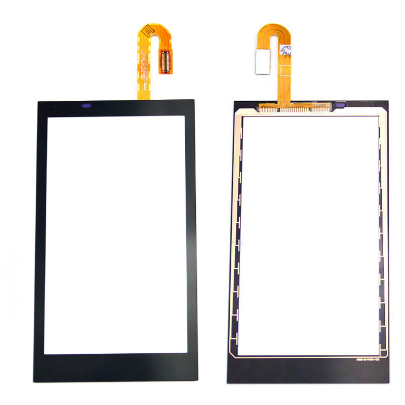 black outer front glass lens sensor panel touch screen with digitizer repair parts For HTC Desire 610 D610<br><br>Aliexpress