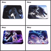 LoL Kindred News Sell New Computer Games Competitive League of Legends High Quality Mouse Pad Mouse Pad Non-Skid Rubber Pad(China)