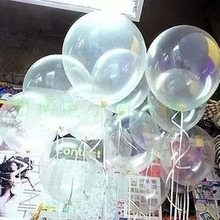 HAOCHU 20pcs 12 inch Clear Balloons Transparent Ballons Latex Baloon for aniversario Wedding Birthday Party Decoration Kid Toy(China)