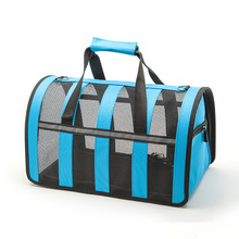 2017 New portable Adjustment dog bag for small dogs Mesh Breathable pet carrier bag carry for Cats Travel Outdoor Retail