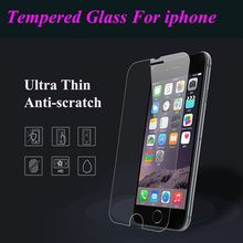 Transparent Tempered Glass For iPhone 7 Plus 6 6S 5S 5 5C SE 4S 4 Explosion Proof Screen Protector For iPod Touch 6 5 4