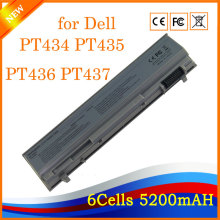 5200mAh 11.1V 6 Cells Laptop Battery For Dell Latitude E6400 E6500 M2400 PT434 PT435 PT436 PT437 KY265 KY266 KY268 KY477(China)
