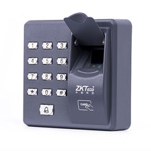 Fingerprint Access Control Standalone Single Door Controller Cheapest Standalone Keypad Finger +RFID Card ZKTeco X6 Door Entry