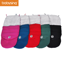 Anglebay Baby Stroller Sleep Sack Cotton Warm Sleeping Bag Winter Thick Footmuff Stroller Accessories(China)