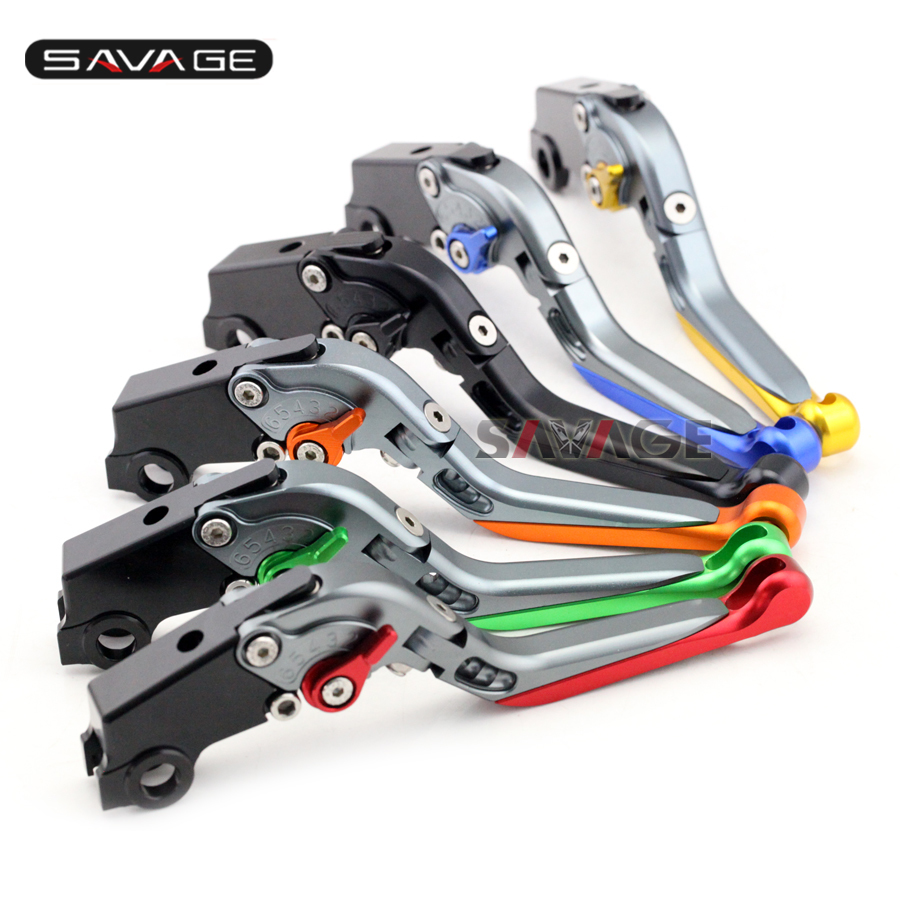 For Brembo Brake Master Cylinder 19RCS Motorcycle Accessories CNC Aluminum Adjustable Folding Extendable Brake Lever 8 colors<br>