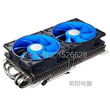 Free shipping dual 9cm fan,4 heat pipe, for NVIDIA /ATI Graphics Cooler,VGA Fan VGA cooler, Deepcool V4600 God wing graphics fan
