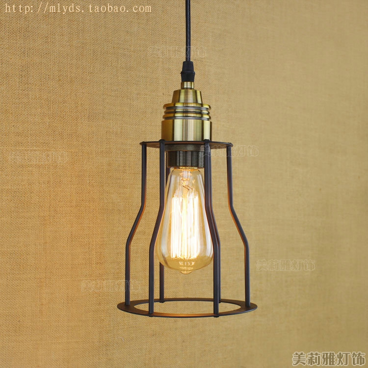 IWHD RH Retro Vintage Lamp Industrial Pendant Lighting Fixtures In American Retro Loft Style Hanglamp Lamparas<br>