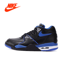 Intersport Original New Arrival Official Nike AIR FLIGHT 89 LE AJ4 Men's Breathable Basketball Shoes Sports Sneakers(China)