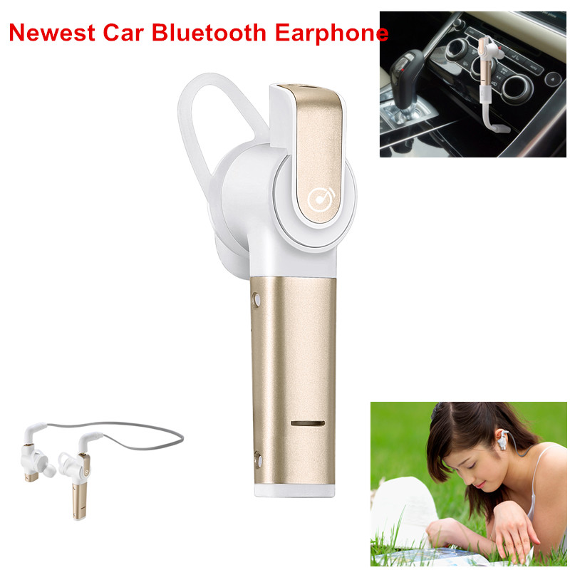Wholesale Bluetooth Earpiece Handsfree Wireless Stereo Bluetooth 4.1 Earphone CSR Chip Car Headset With Microphone New Arrival<br>